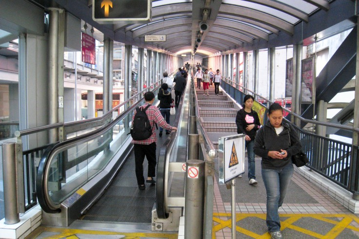 Central Mid Levels Escalator