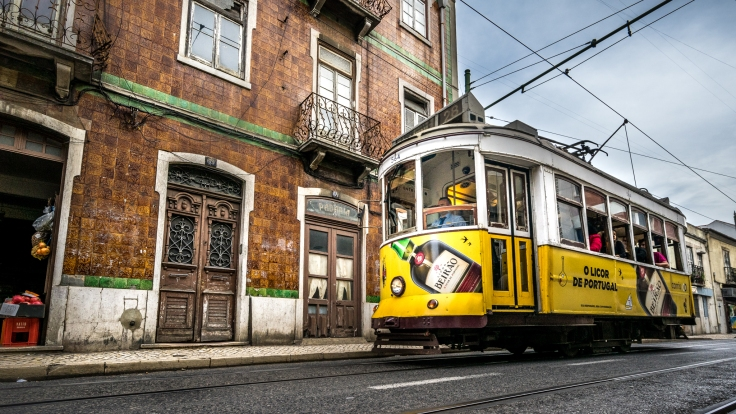 Tram 28 - Lisbon, Portugal - Travel photography